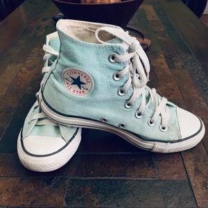 Converse all stars color mint 💚